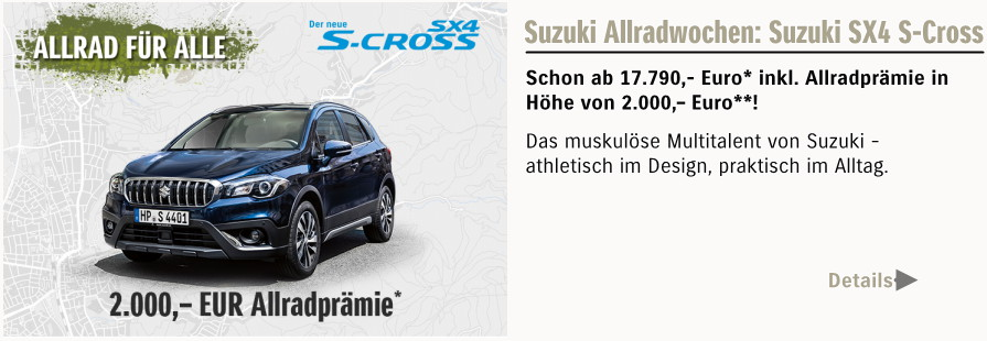 S-Cross-Allradwochen